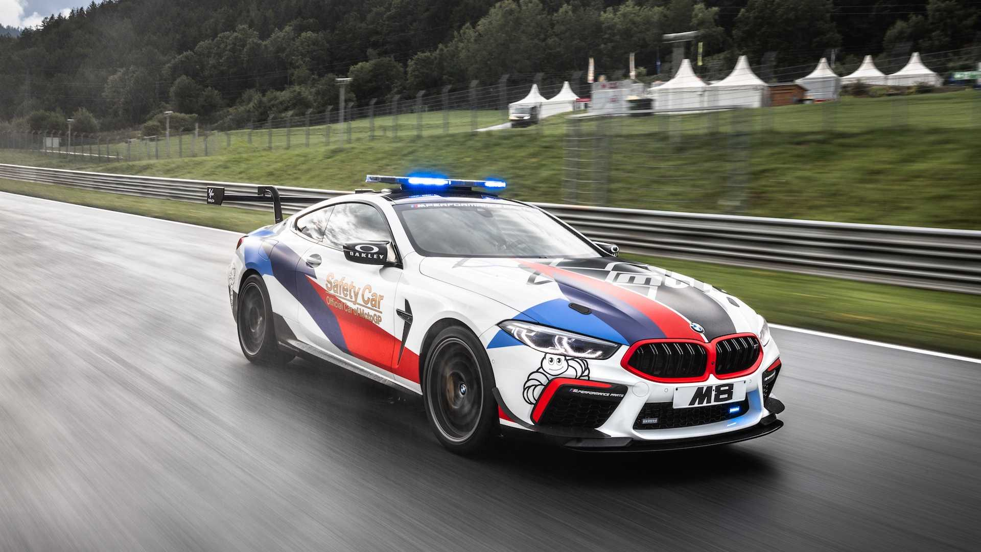BMW M8 Competition novi MotoGP bezbednosni automobil (GALERIJA)