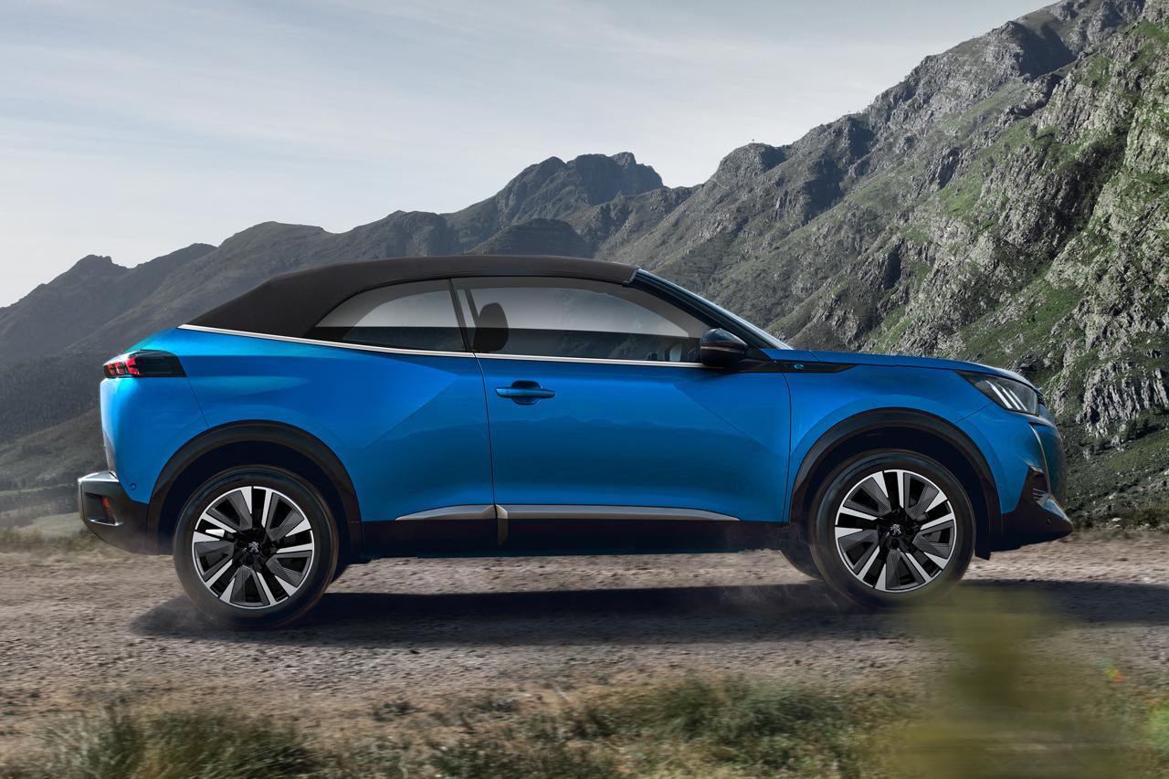 """Kako bi izgledao zamišljeni odgovor Peugeota na Volkswagen T-Roc """"bez šešira"""""""