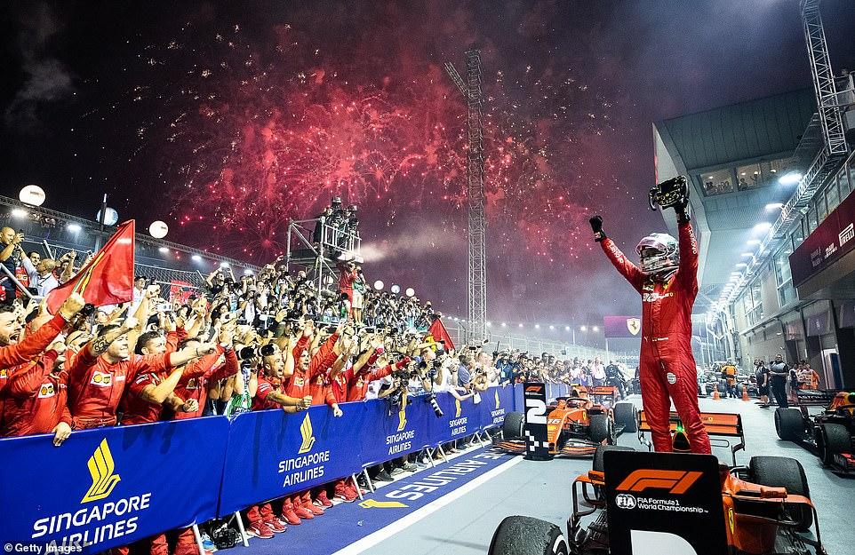 Dvostruka pobeda Ferrarija u Singapuru