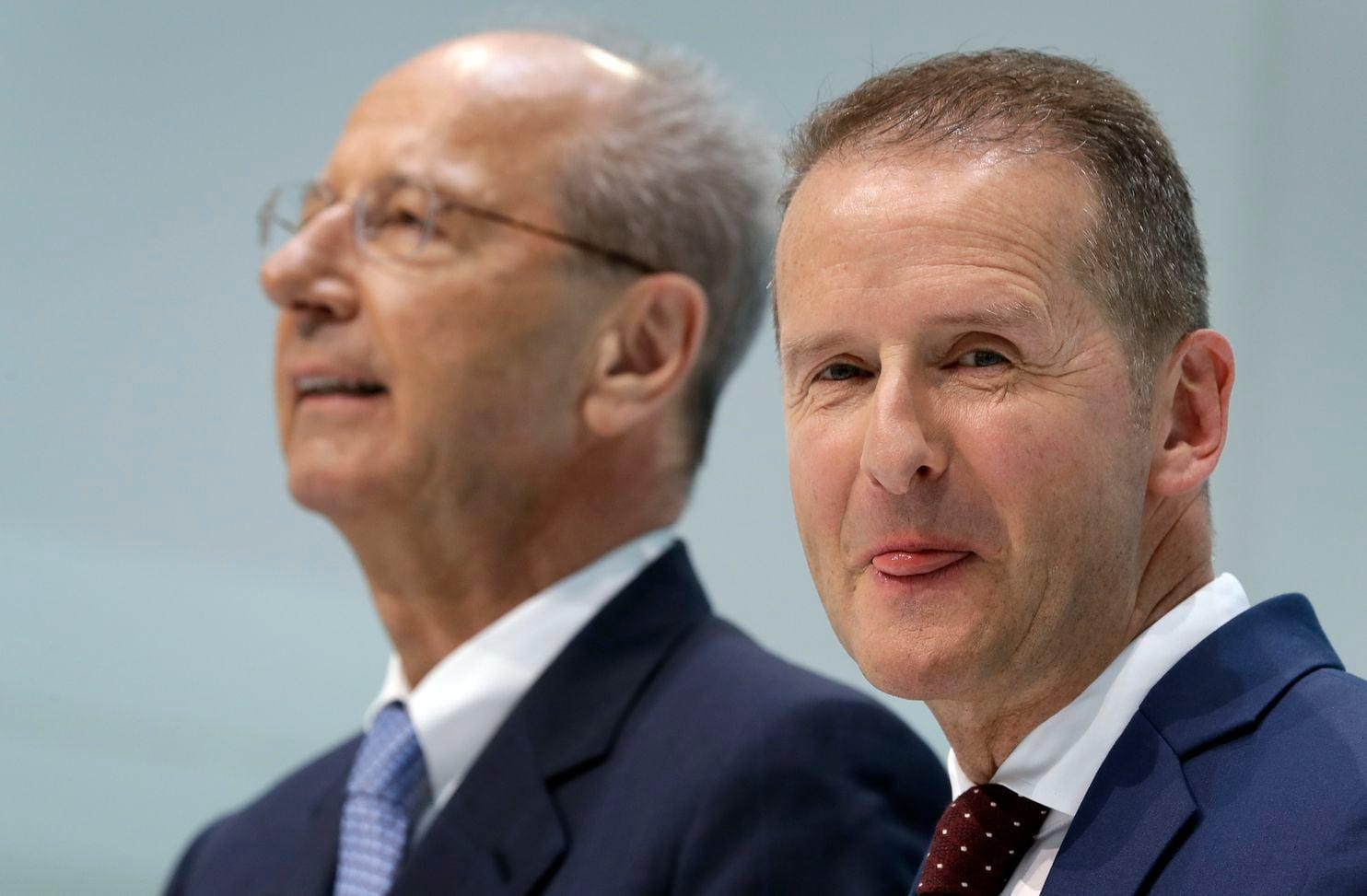 Dva vodeća rukovodioca VW grupe optužena za berzanske manipulacije