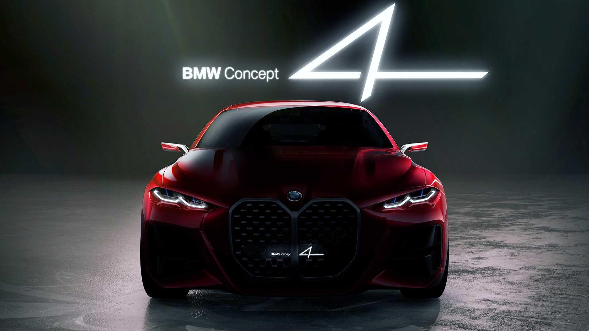 BMW Concept 4 – atraktivni atleta ružnog lica (GALERIJA)