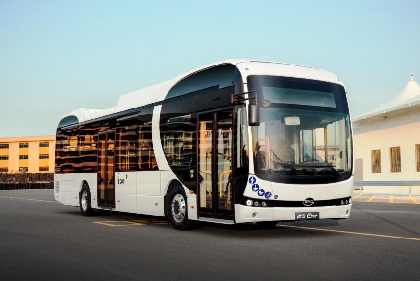 Kineski autobusi služe u gradovima evropskog inženjering lidera