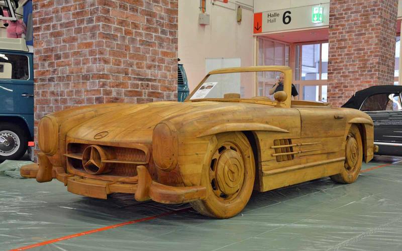 Zanimljivost dana: Koliko košta drveni Mercedes SL 300 Roadster?!