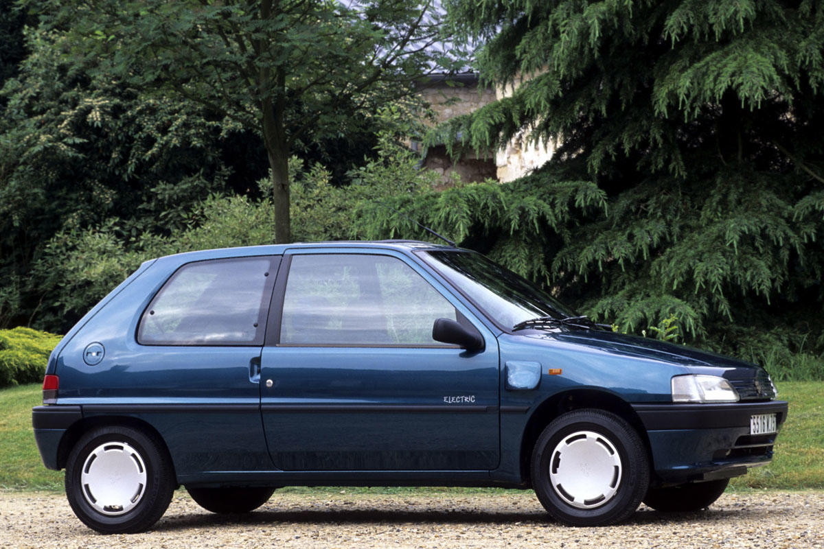 Zanimljivost dana: Peugeot 106 Electric