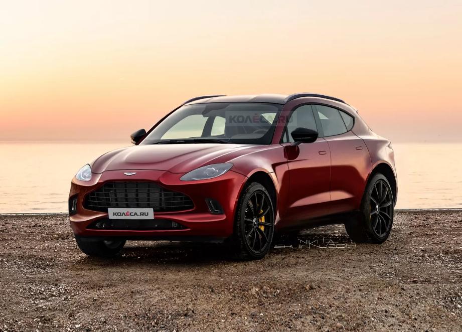 """Tarabići"" predvideli izgled prvog krosovera Aston Martina"