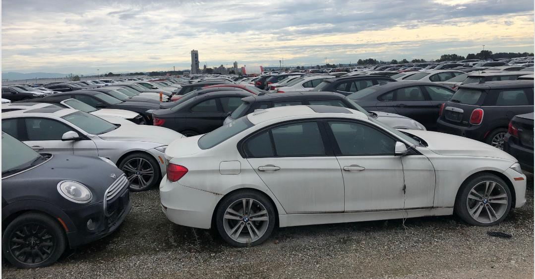 Hiljade novih BMW-a godinama bespomoćno odumire na kanadskom parkingu