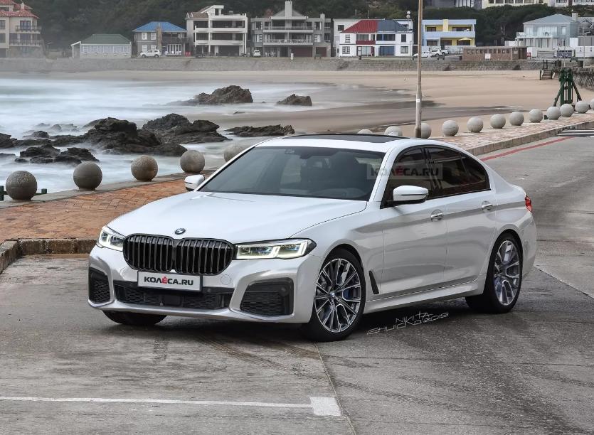 Novi render limuzine BMW serije 5