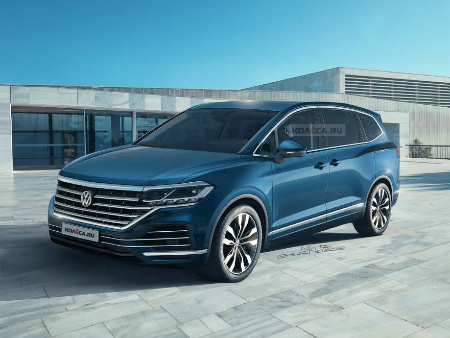 """Minivan iz Volkswagena, Viloran """"renderizovan"""""""