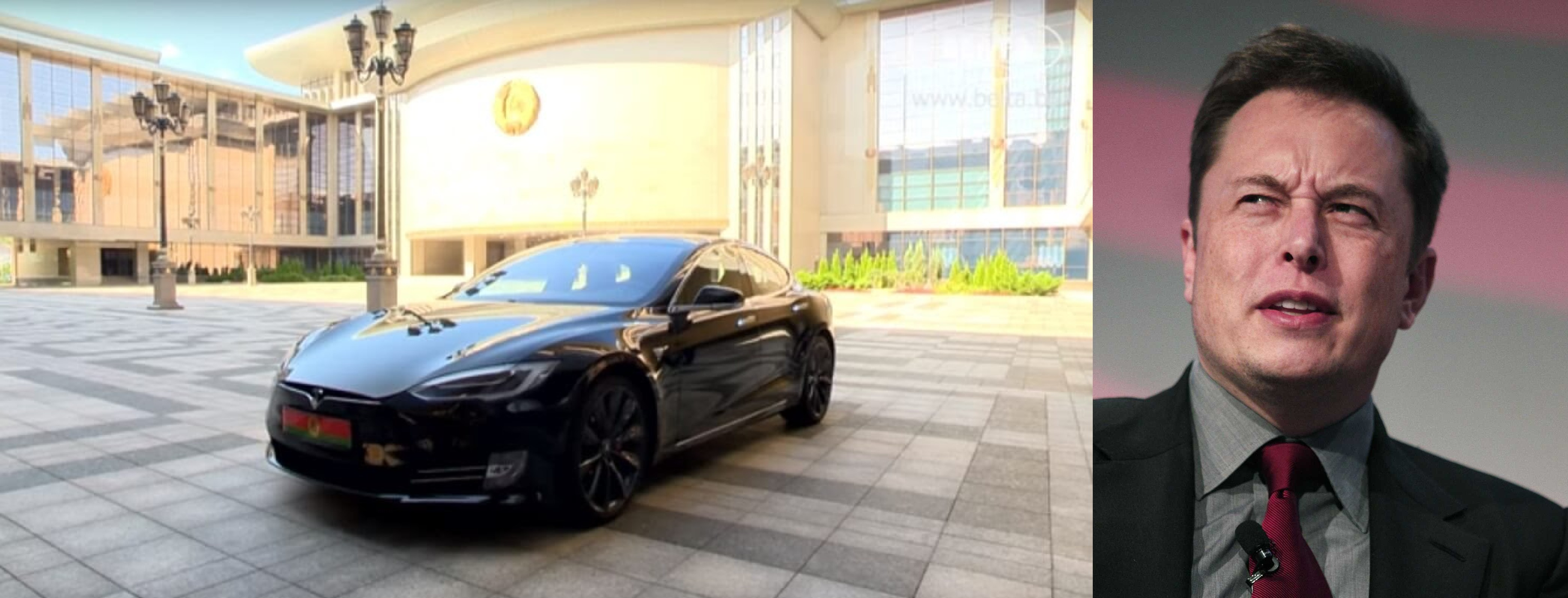 Lukašenko: Dobih Model S na poklon od Ilona; Mask: O, ne! (VIDEO)