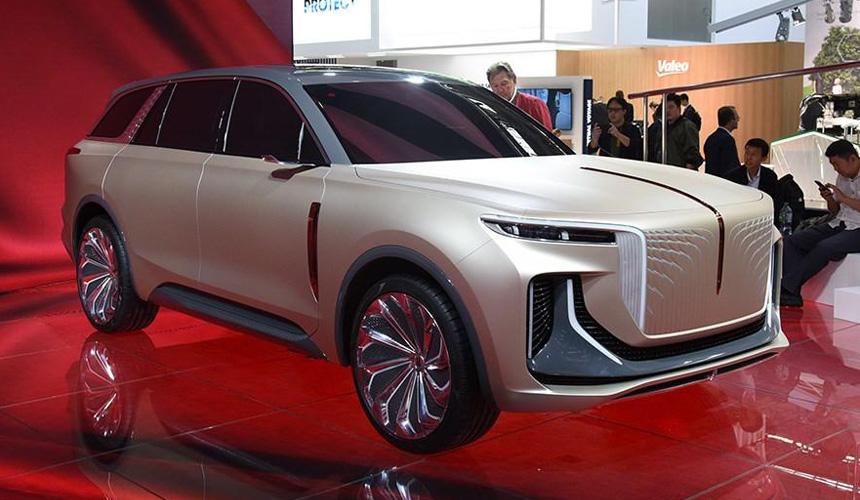Kinezi se ne šale: Luksuzni SUV i hiperautomobil marke Hongqi u Frankfurtu