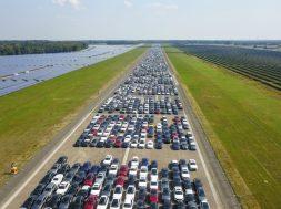 Fliegerhorst Ahlhorn / Mercedes Autos auf Halde