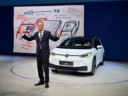 GERMANY-AUTOMOBILE-ELECTRIC-VW