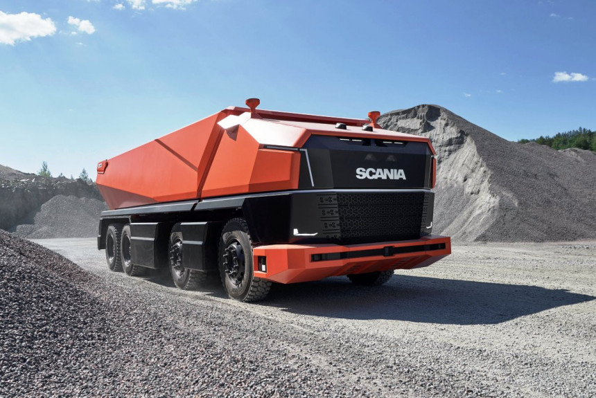 Scania prikazala autonomni kamion bez kabine