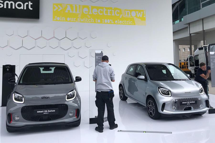Renesansa Smarta u Frankfurtu, predstavljeni novi EQ Fortwo i Forfour