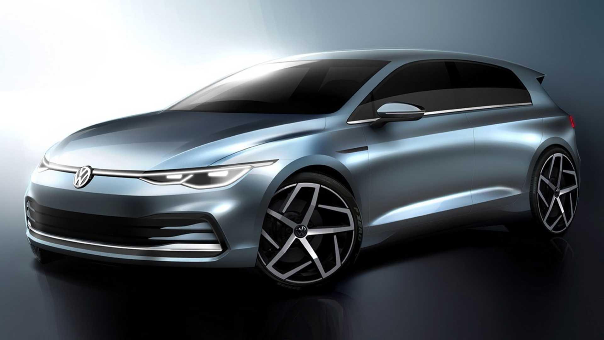 Zvaničan uvid u Volkswagen Golf Mk8 (2020.)