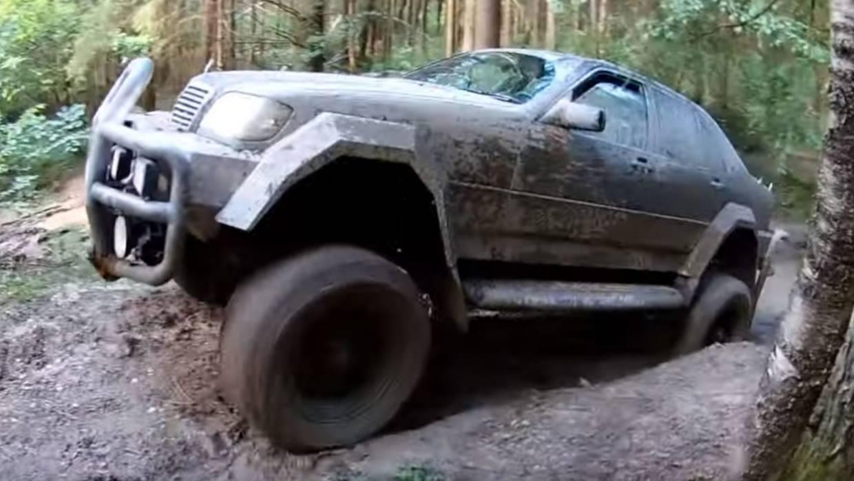 Mercedes S klasa kao terensko vozilo?! (VIDEO)