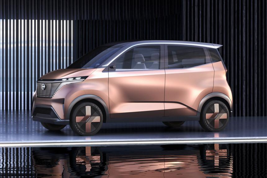 Nissan IMk daje uvid u budućnost Kei automobila