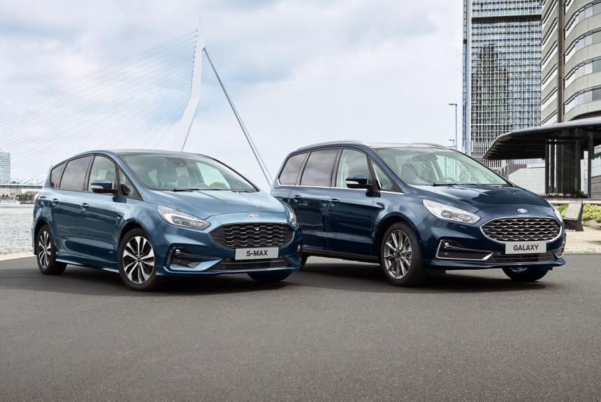 Predstavljeni osveženi modeli Ford Galaxy i Ford S-Max