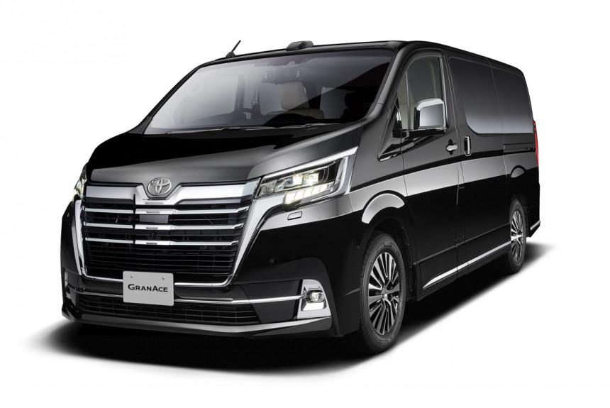 Novi MPV za najuspešnije preduzetnike Japana: Toyota GranAce