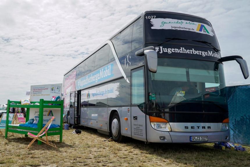 Jedna Setra služi u Nemačkoj kao mobilni hostel