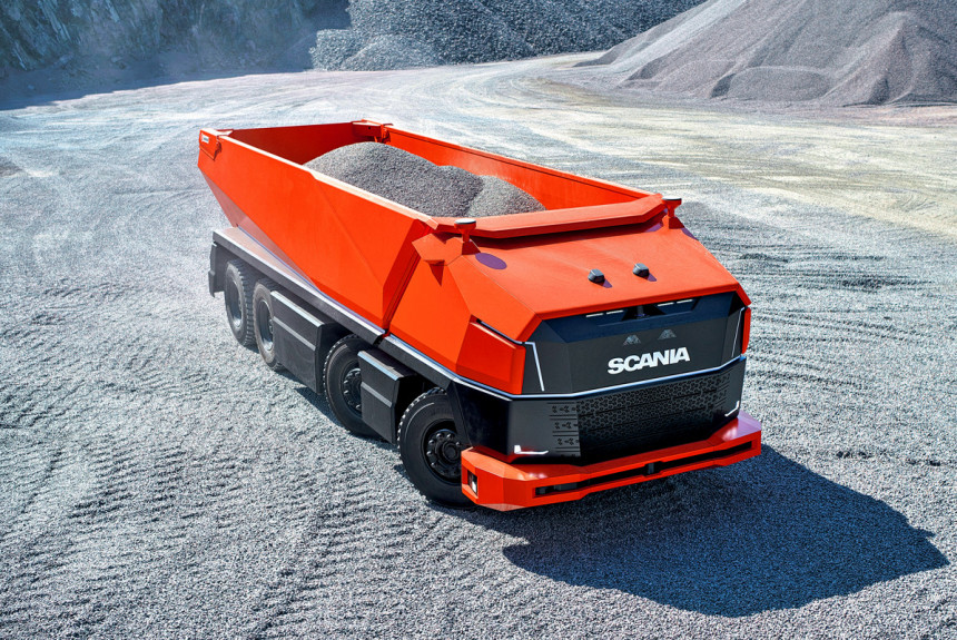 """Čak četiri osobe upravljaju """"autonomnim"""" kamionom Scania AXL!"""