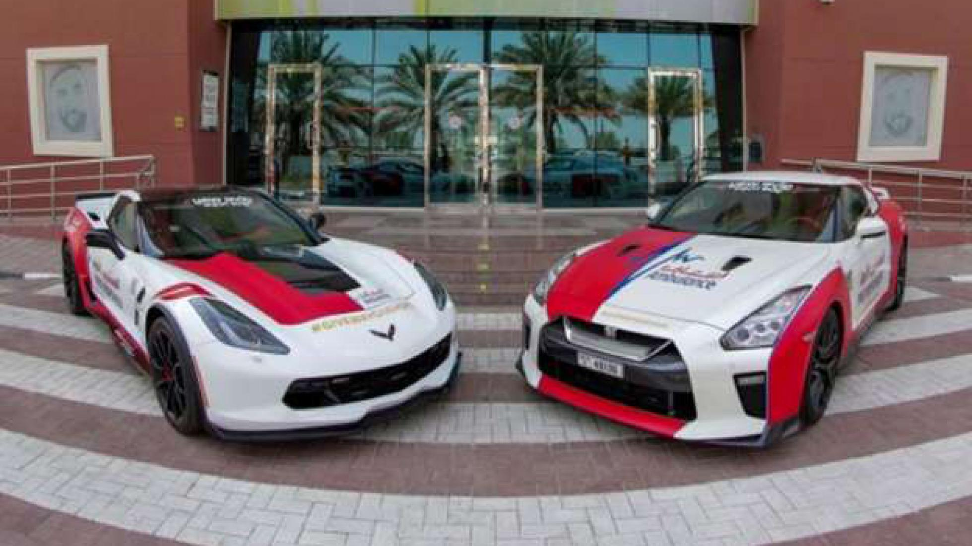 Nissan GT-R i Corvette C7 kao vozila Službe hitne pomoći u Dubaiju