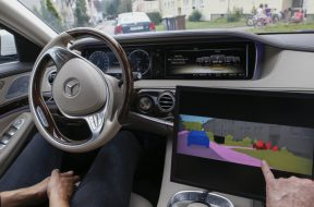 Daimler Continues Artificial Intelligence Self-Driving Race