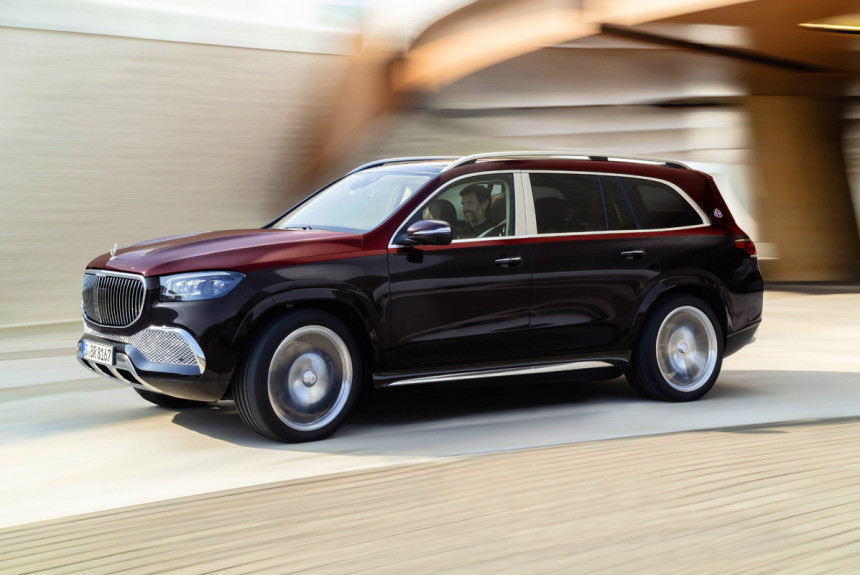 Mercedes-Maybach GLS600 u Kini