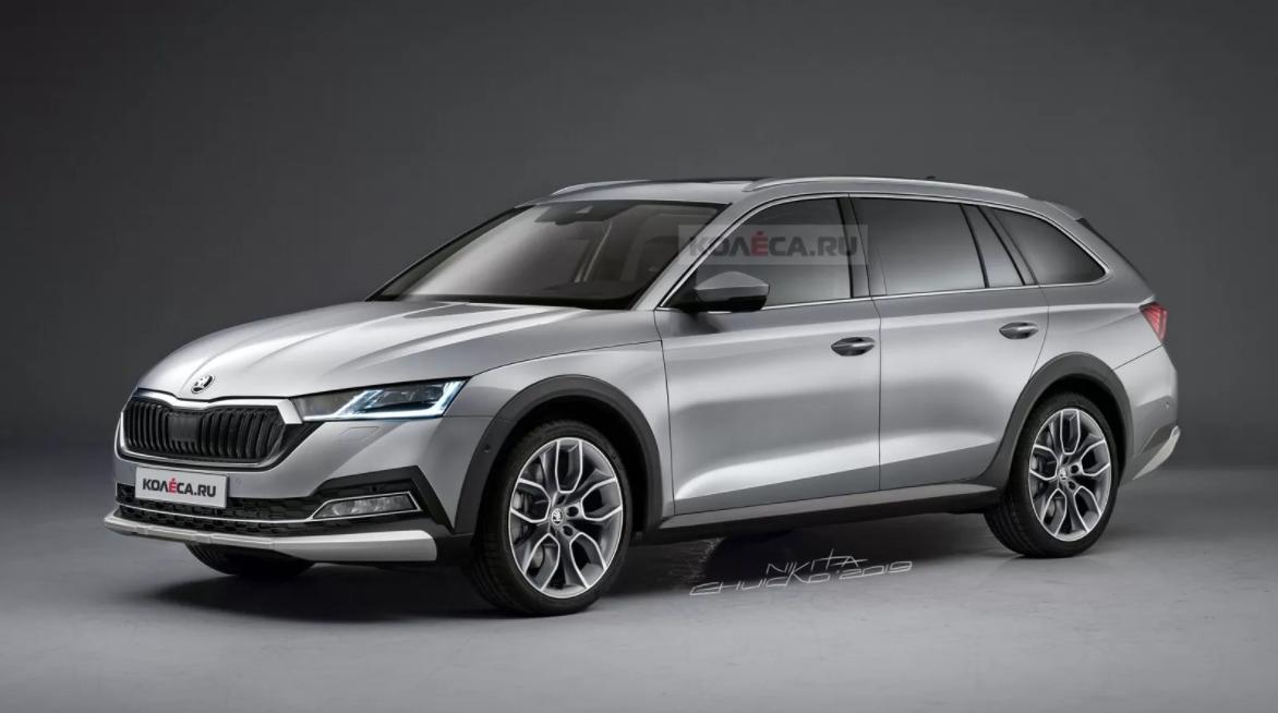 Da li bi ovako mogla da izgleda nova Škoda Octavia Scout?!