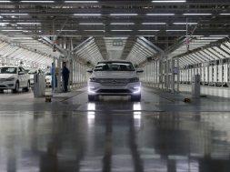 SAIC Volkswagen Produktion in Shanghai