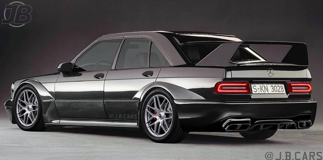 Kako bi danas izgledao Mercedes-Benz 190 E Evolution II?