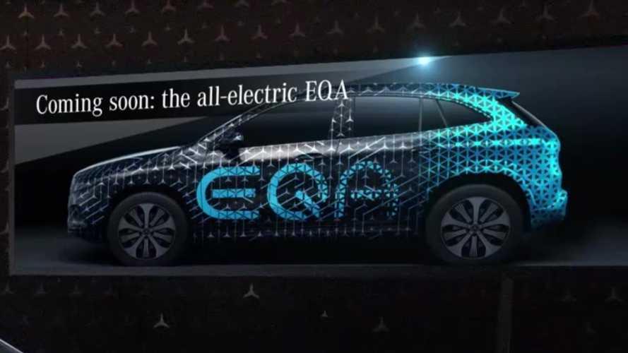 Mercedes-Benz EQA nakratko prikazan tokom premijere GLA