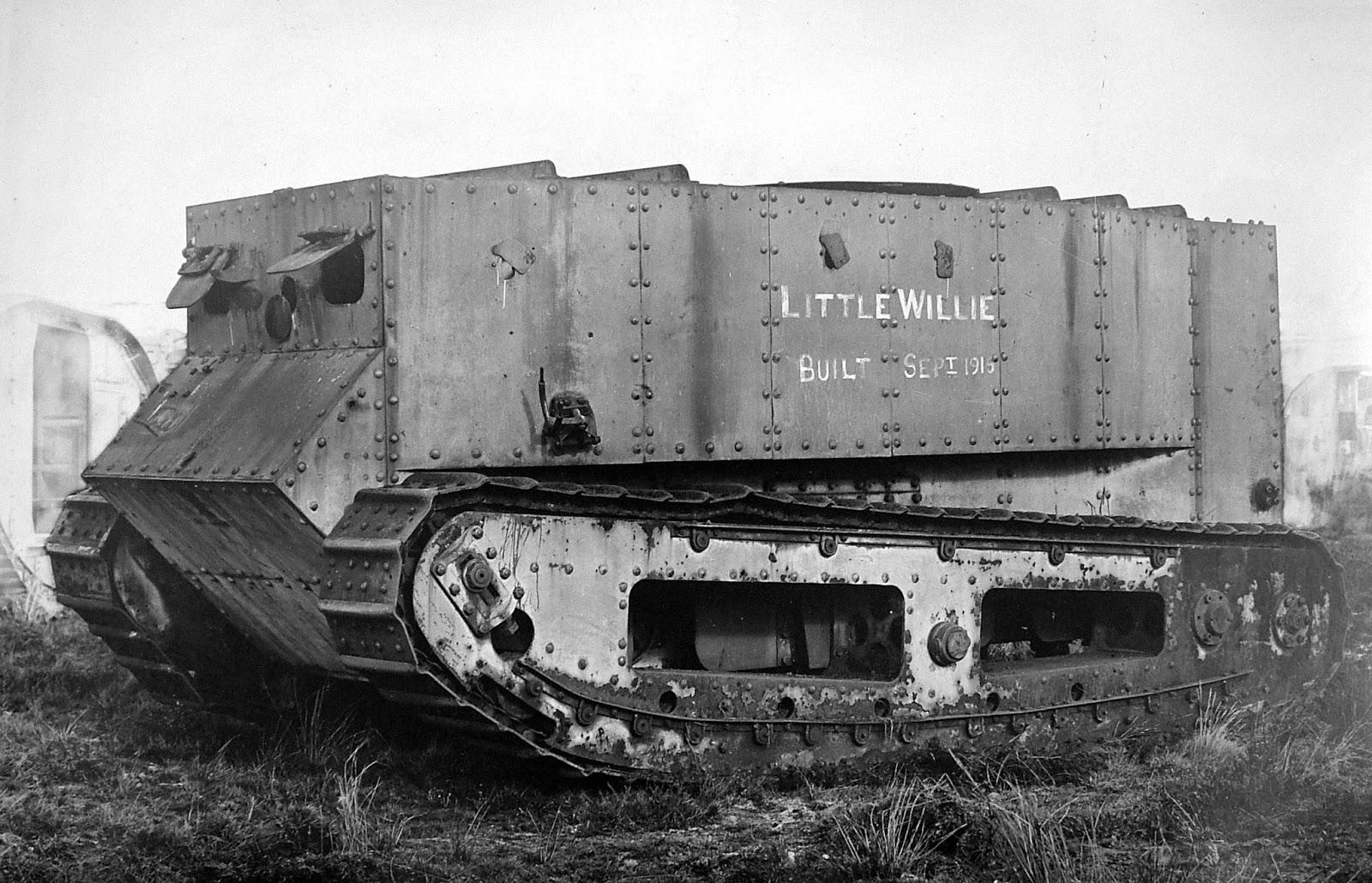 Zanimljivost dana: Prvi tenk u istoriji – Little Willie