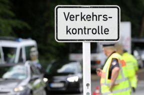Dieselfahrverbots-Kontrolle der Hamburger Polizei