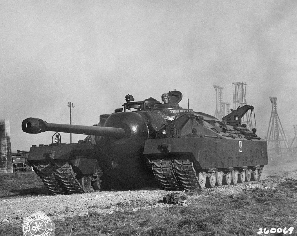 Zanimljivost dana: T28 Super Heavy Tank prototip