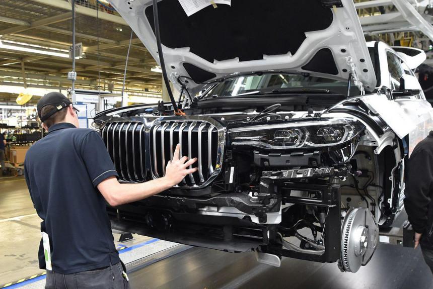 BMW neće graditi fabriku u Rusiji
