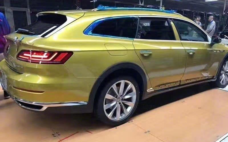 Prve fotografije: Volkswagen Arteon Shooting Brake