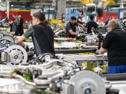 Produktion bei Mercedes